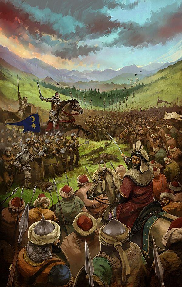 Vlad the Impaler by *JonHodgson on deviantART