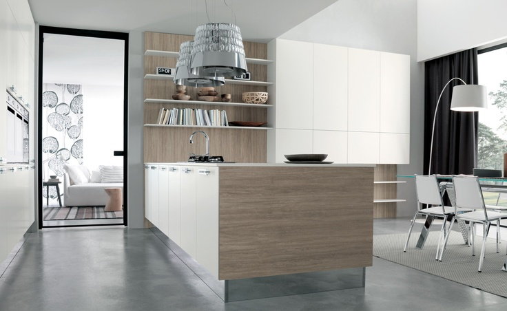 03 Contemporary kitchen VENUS by Zecchinon | Archisesto Chicago |