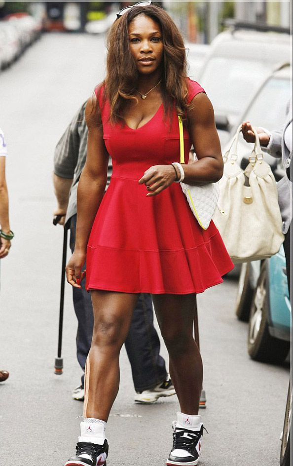 Lawn Tennis Player Serena Williams Is A World Famous