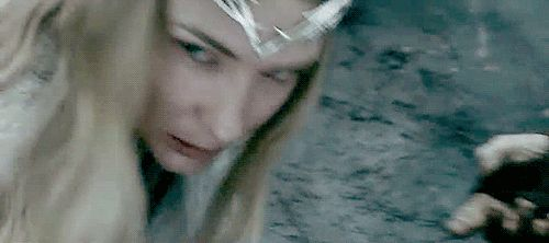 Galadriel, the most famous and powerful elf of the Third Age.  I like how Galadriel brings a feeling of the First Age to the movies, just looking at her; her magic you can see the wisdom, the experience and the beauty she carries for so many years.