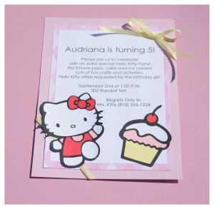 The 9 best images about things to valerias party on pinterest make your own hello kitty invitations tips and tutorials for making your own birthday invitations and cardswith a hello kitty theme using cricut and other stopboris Image collections