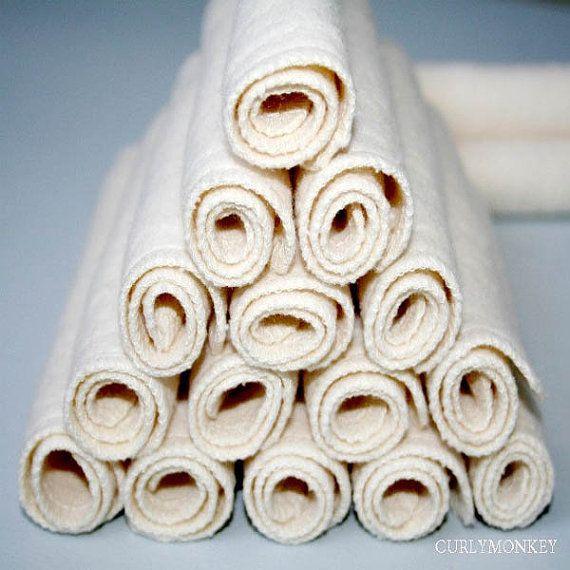organic baby wipes cloth diaper wipes ecofriendly by curlymonkey, $31.35