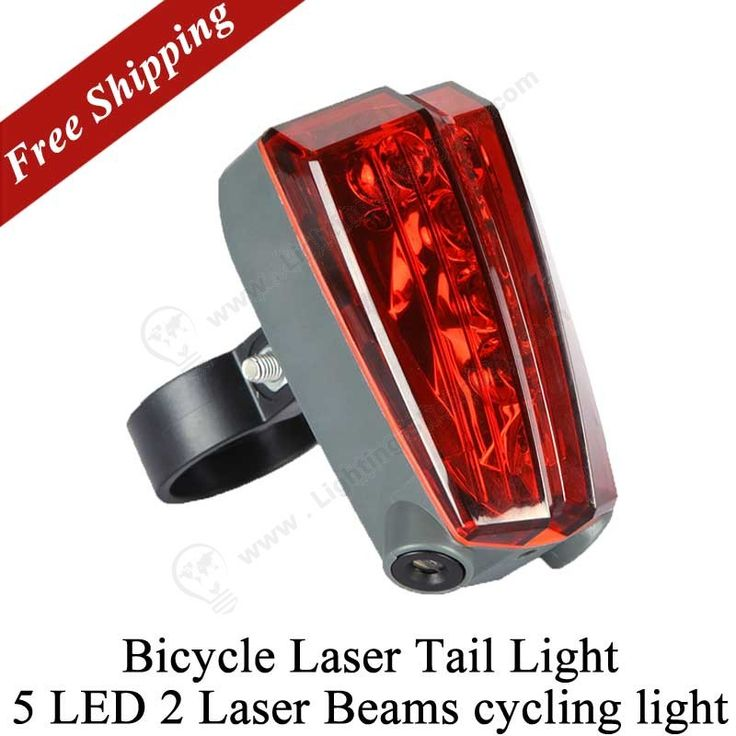 #LED #Bike #Tail #Light, 5 LED 2 Laser Beams, Bicycle Laser Tail Light Rechargeable,   http://www.lightingshopping.com/bicycle-laser-tail-light-rechargeable-bike-rear-led-light-taillight.html