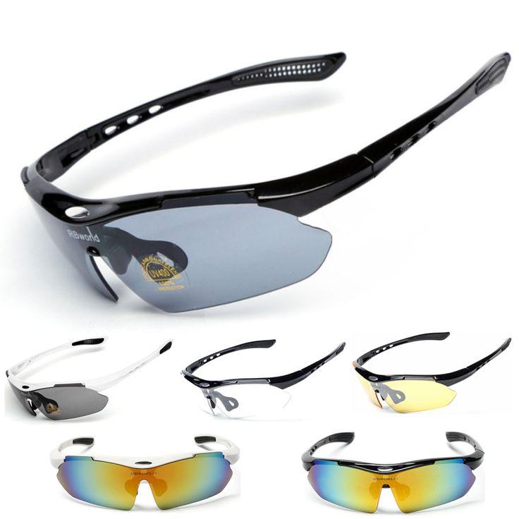 Outdoor UV400 Riding Brand Cycling Sunglasses Men Women 2016 Mtb Sport Bike Bicycle Cycling Eyewear Glasses Goggles Set
