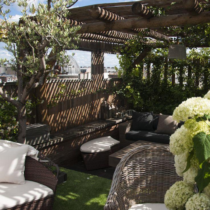 9 best Toile d\u0027ombrage images on Pinterest Frances o\u0027connor - toile tendue pour terrasse