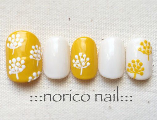 Hihihi. Yellow mustard design,  Floral