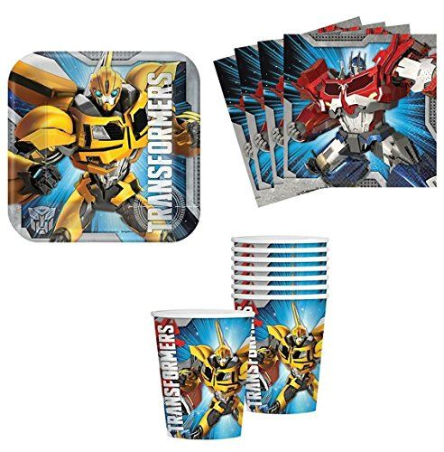 Transformers Birthday Party Supplies Set Plates Napkins C... http://www.amazon.com/dp/B00O0BNU20/ref=cm_sw_r_pi_dp_3wCrxb1EGS28D