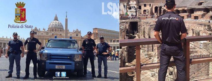 Pattugliamento congiunto Italia-Spagna. Questore incontra poliziotti iberici.