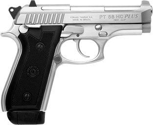 Pistola Taurus Cal. 380 PT58HC Plus - Inox