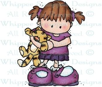 Leah - Children - Rubber Stamps - Shop