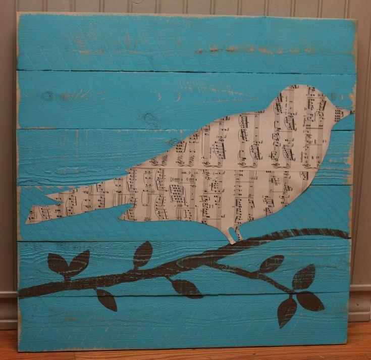 Sheet Music Birdie