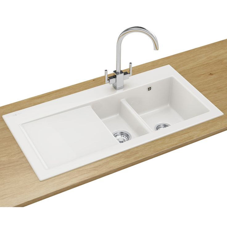 Image result for white kitchen sink