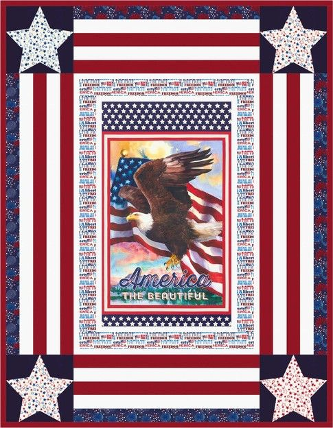 181 Best Images About Panel Quilts On Pinterest Fat