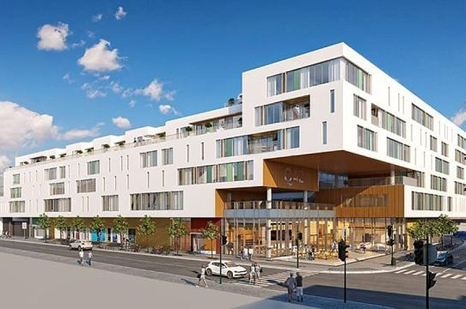 Q42, Kristiansand: gardiner, panelgardiner og sengetekstiler og puter til hotellrom. http://kvintblendex.no/prosjekter/q42/