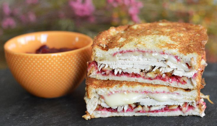 Thanksgiving Monte Cristo. Delicious the morning after Thanksgiving, and beyond! From 300sandwiches.com.