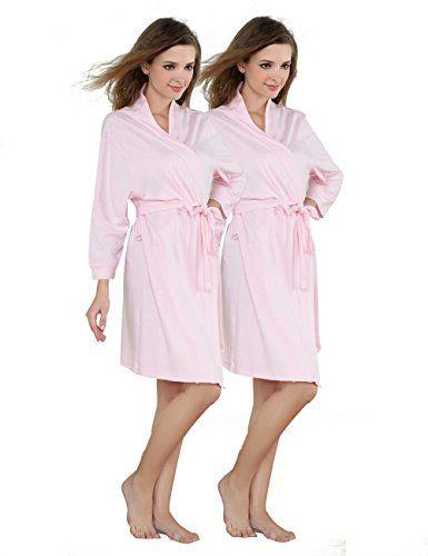 Godsen Women's Comfort Cotton Sleepwear Bathrobe