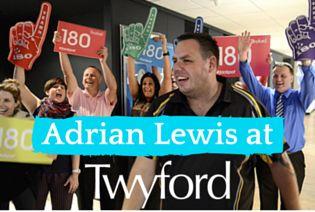 #Darts #Champion Adrian Lewis at #Twyford HQ