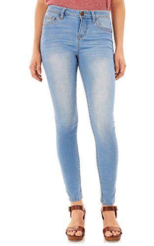 WallFlower Women's Juniors High Rise Irresistible Denim #Women'sJeans  #Jeans