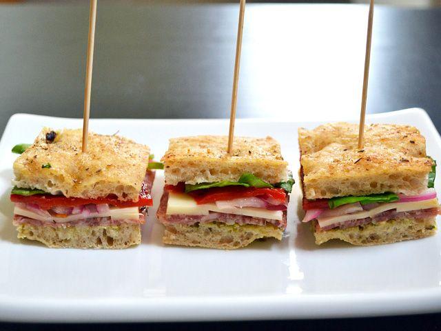 italian salami sandwiches - Budget Bytes