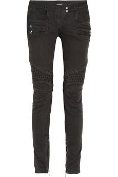 Balmain jeans. I hope to own a pair of these jeans one day.