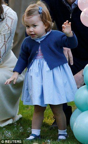 Princess Charlotte today