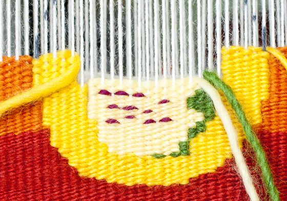 Intro to Tapestry Class: The Circle | Mirrix Tapestry & Bead Looms