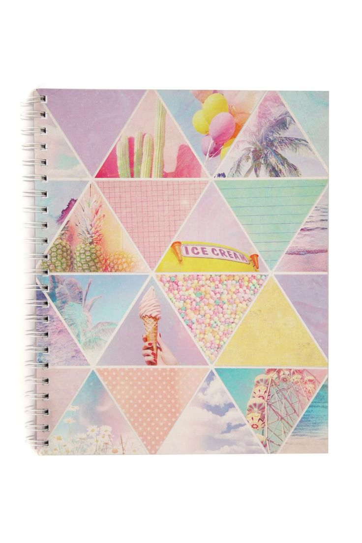 Diy glitter notebook cover - A4 Campus Notebook Cotton On Got This Today