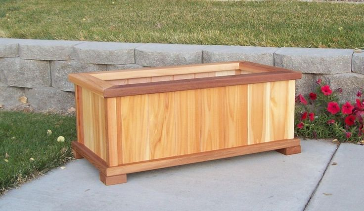 1000 Images About Planter Boxes On Pinterest Wooden 400 x 300