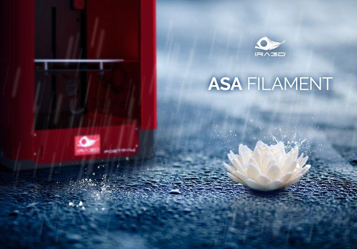Filamenti ASA: la soluzione alternativa all'ABS