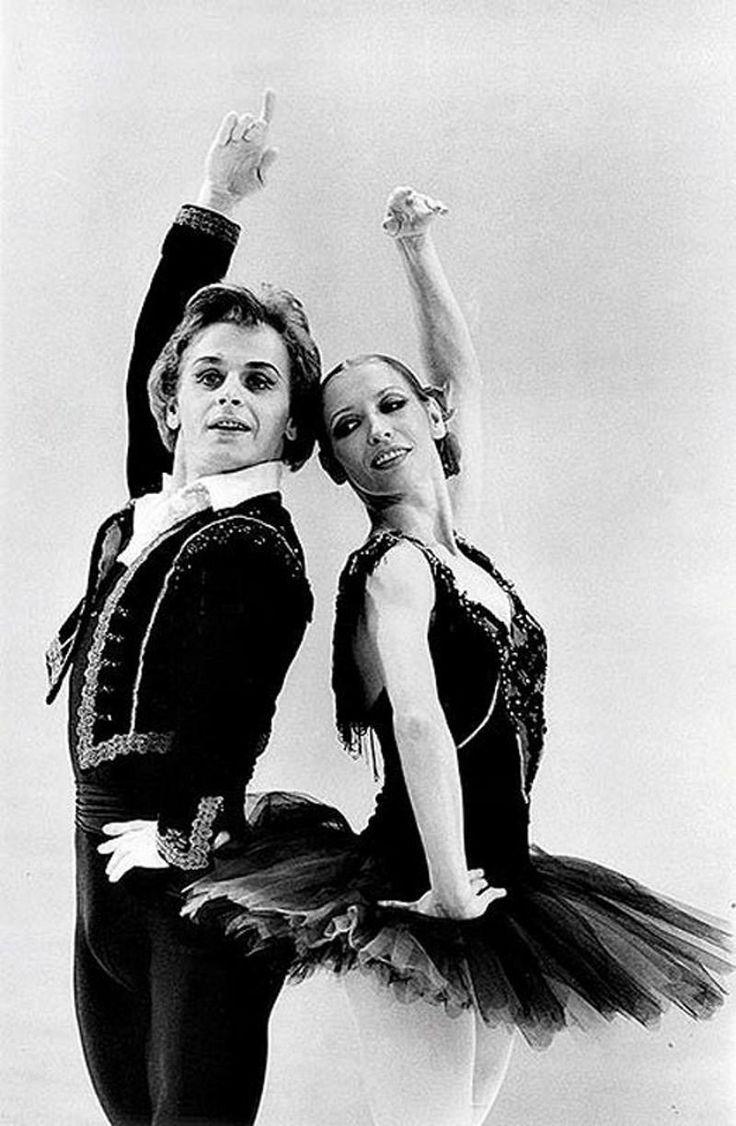 Mikhail Baryshnikov and Natalia Makarova \\ Giselle at the Metropolitan Opera.