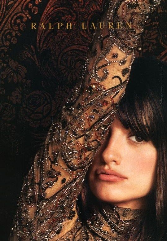 subsonicvelocity:    whatchathinkaboutthat:PENELOPE CRUZ FOR RALPH LAUREN
