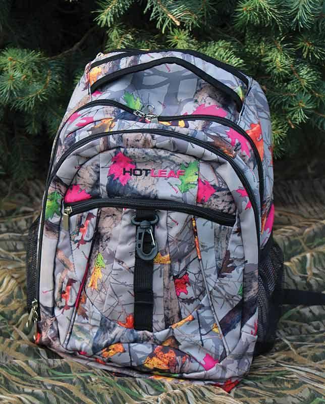 Women's Hotleaf Camo Backpack - New Hot Leaf - Promos