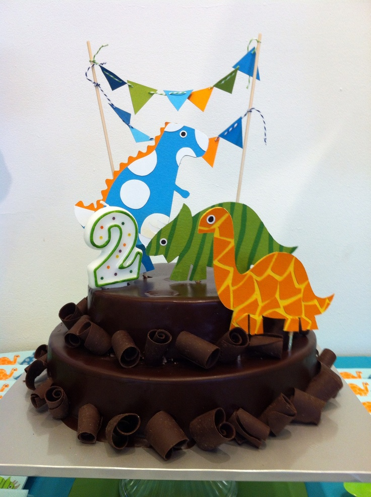 Dinosaur Cake Decorations Toppers : 25 best Dinosaur Baby Shower images on Pinterest ...