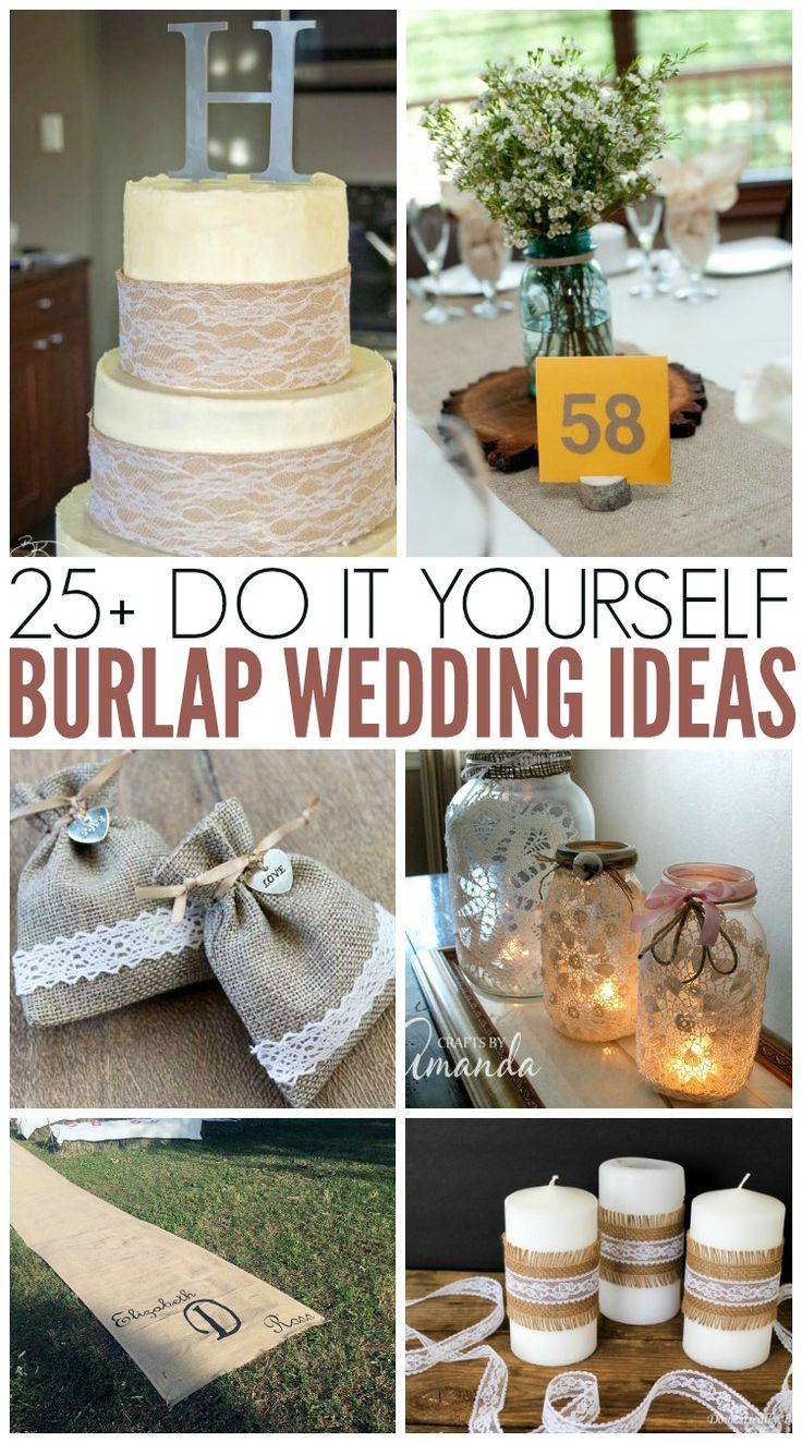 380 best rustic burlap wedding ideas images on pinterest budget burlap wedding ideas perfect for rustic weddings wedding craftswedding decorationsdiy junglespirit Choice Image