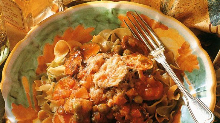 Pasta vegetable bake