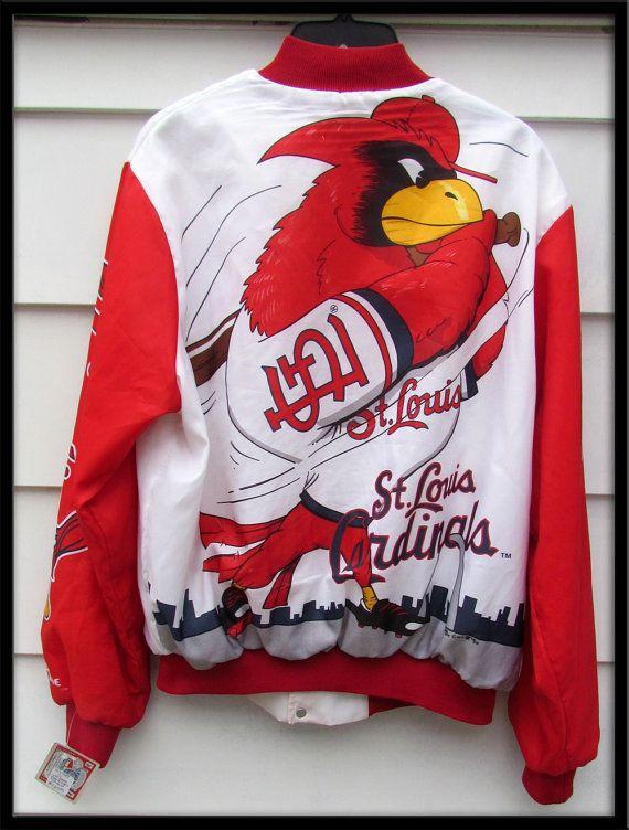 RARE 1989 Vintage St Louis Cardinals Baseball Jacket