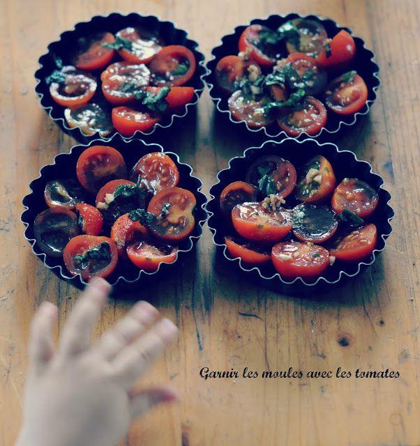 ★ Miss Thelma ★: un peu de cuisine? Tatin de tomates cerise marinées