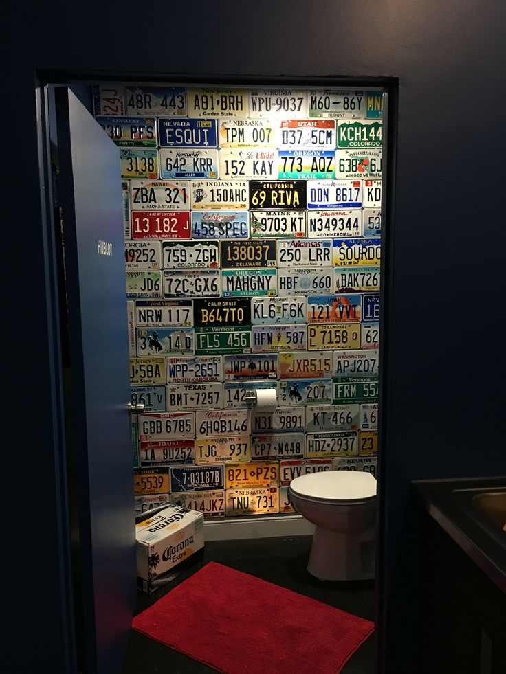 Give Your Washroom Some Character With A Wall Full Of