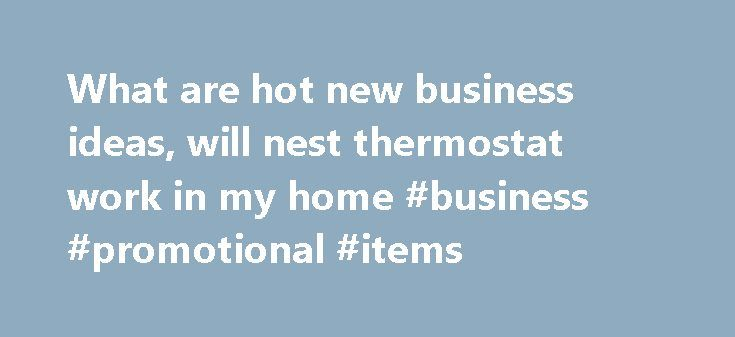What are hot new business ideas, will nest thermostat work in my home #business #promotional #items http://bank.remmont.com/what-are-hot-new-business-ideas-will-nest-thermostat-work-in-my-home-business-promotional-items/  #hot new business ideas # Main menu What are hot new business ideas What are hot new business ideas Analysis So you know you want to start a business. but you're not sure what kind of. your decision easier by spotlighting 12 of today's hottest business ideas. New laws…