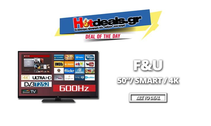 F&U FL2D5003UH Τηλεόραση 4K Smart 50 Ιντσών | Smart 4K LED TV ULTRA HD | Media Markt | 349