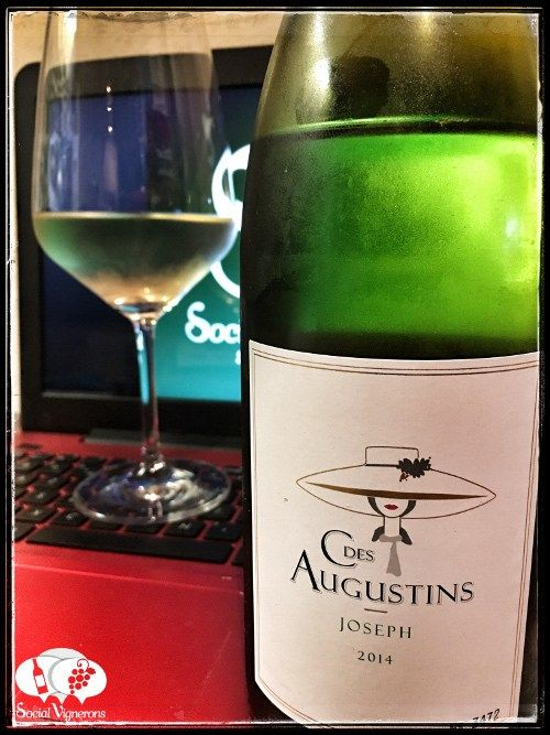 Score 91/100 Wine review, tasting notes, rating of Clos des Augustins Joseph Blanc, Languedoc. Description of aroma, palate, flavors. Join the experience.