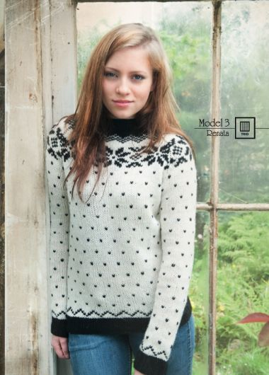 The Island Wool Company- Faroese By Design - Nordic By Nature - Star Jumper