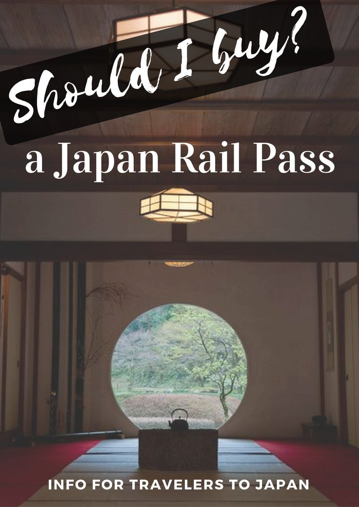 Planning travel to Japan? See if buying a Japan Rail pass is right for you!