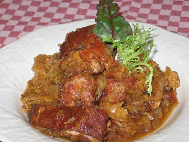 It's the National Dish of Poland: How to Make Hunter's Stew: Hunter's Stew - Bigos - is great cooked outdoors.