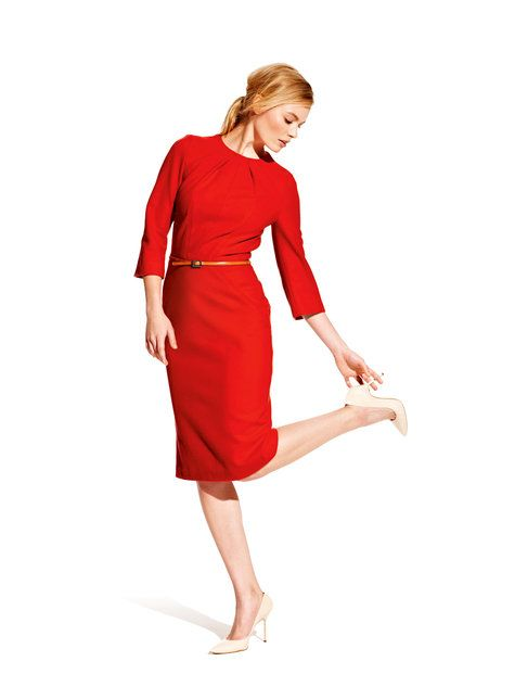 long sleeve seamed dress pattern - i really like the simple styling here: Sewing, 121 0812, Dress 08 2012, Pattern, Dresses, Sleeve Seamed, Long Sleeve