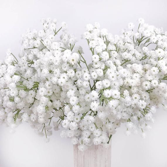Real Touch Gypsophila Baby S Breath Spray 65cmh Artificial Flowers Home Party Decor Diy Flower Arranging In 2020 Flower Arrangements Diy Artificial Flowers Flower Arrangements