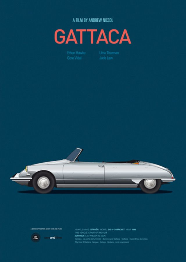 Cars & Film posters, by Jesús Prudencio