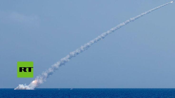 #Terrorismo Un submarino ruso lanza misiles de crucero Kalibr contra objetivos terroristas en Siria: Más info: https://es.rt.com/5dkx…