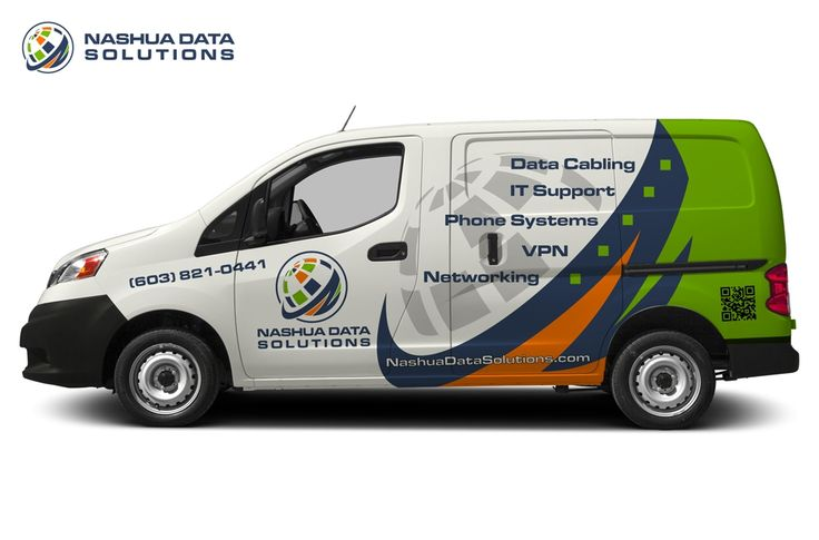 Rework my Van Design for and IT Company
