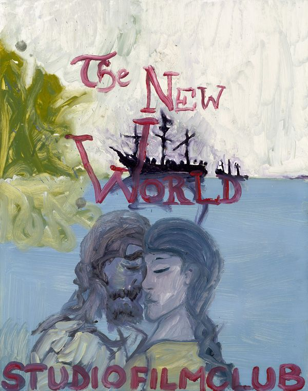 Peter Doig, Studio Film Club Poster, The New World